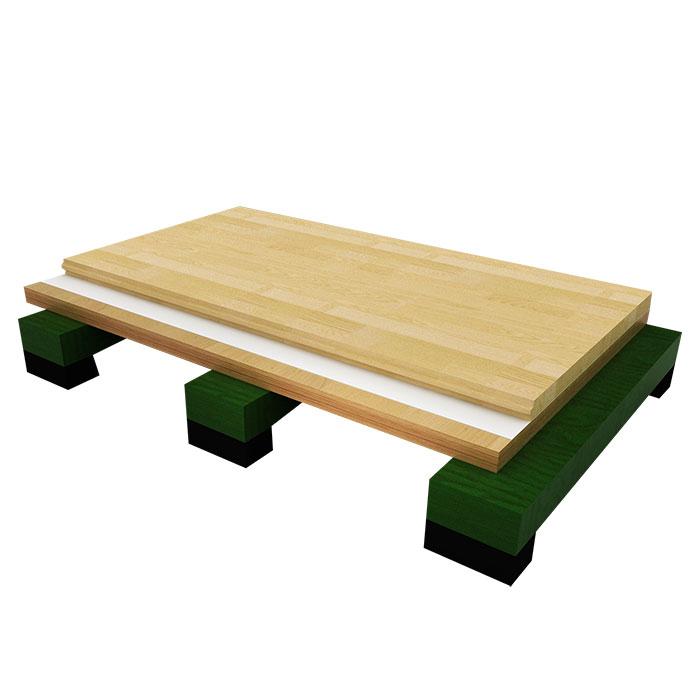 板式龙骨专业型体育地板