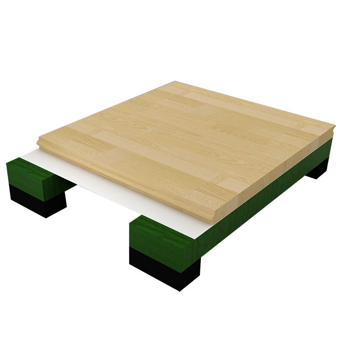 龙骨结构木地板