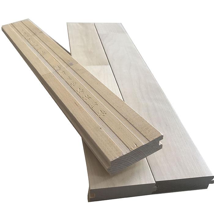 枫桦木A级白运动地板