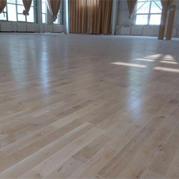 延安体育馆羽毛球木地板