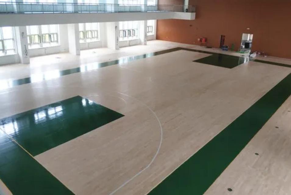 篮球体育场木地板